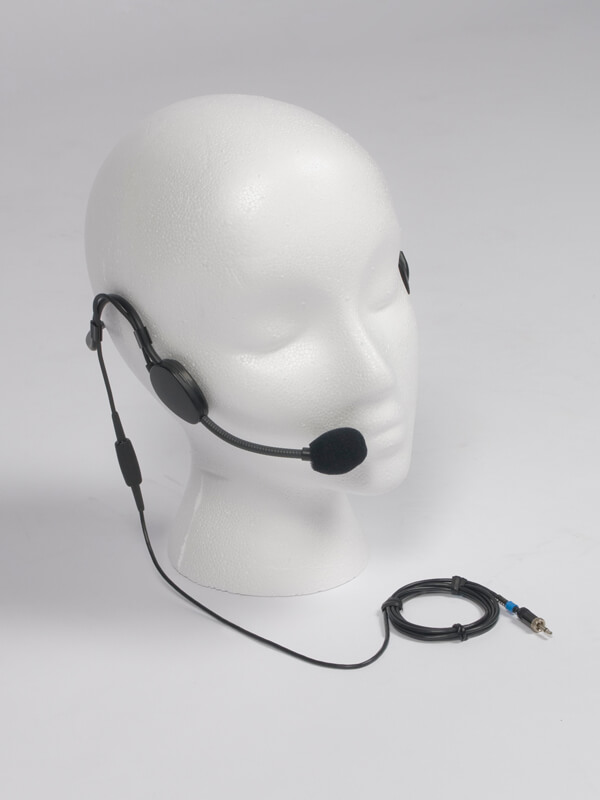 Head Set with mic - part of wireless tour guide system