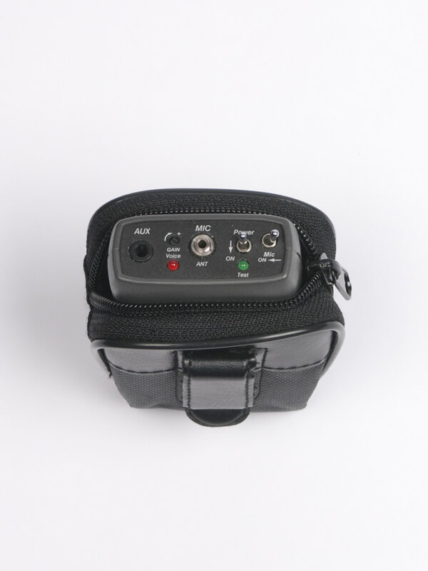 Wireless tour guide system transmitter