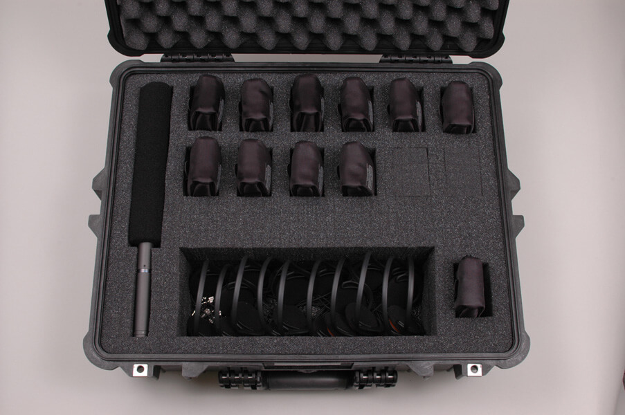 Pelican Protector Case for wireless tour guide system